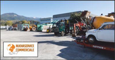 nuova service commerciale offerta riparazione escavatori occasione macchine movimento terra