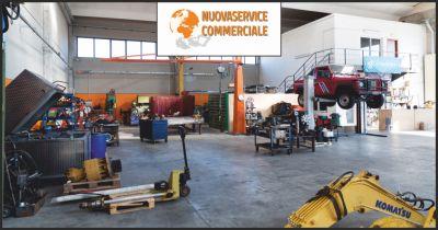 nuova service commerciale offerta vendita escavatori euromach occasione macchine eurocomach