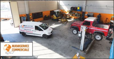 nuova service commerciale offerta officina meccanica occasione officina per escavatori