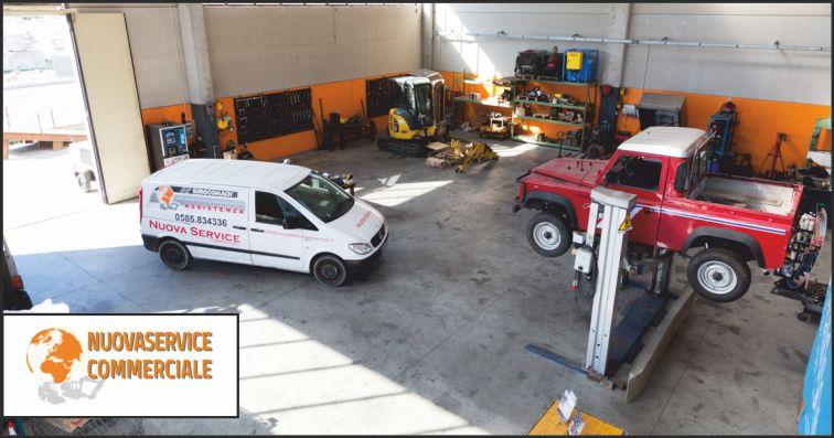 nuova service commerciale offerta officina meccanica - occasione officina per escavatori