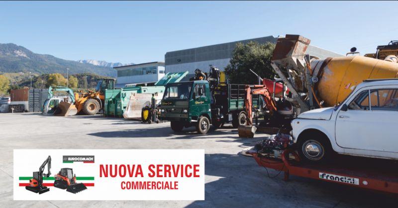 nuova service commerciale offerta escavatori - occasione riparazione macchine agricole la spezia