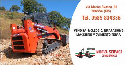 nuova service vendita escavatori eurocomach occasione macchine escavatrici la spezia