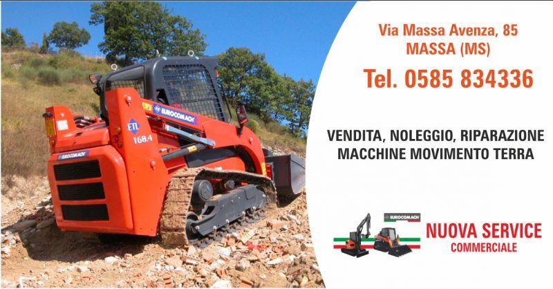 nuova service vendita escavatori eurocomach - occasione macchine escavatrici la spezia