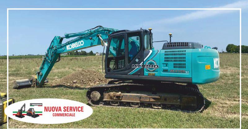 nuova service offerta ricambi macchine movimento terra - occasione ricambi escavatori la spezia