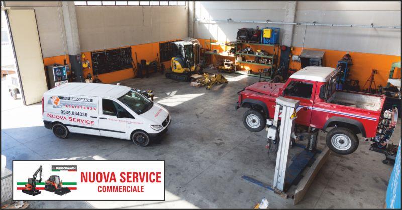 nuova service offerta assistenza meccanica - occasione assistenza escavatori la spezia