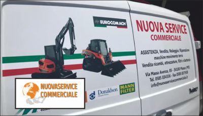nuova service offerta noleggio macchine movimento terra occasione noleggio escavatori massa