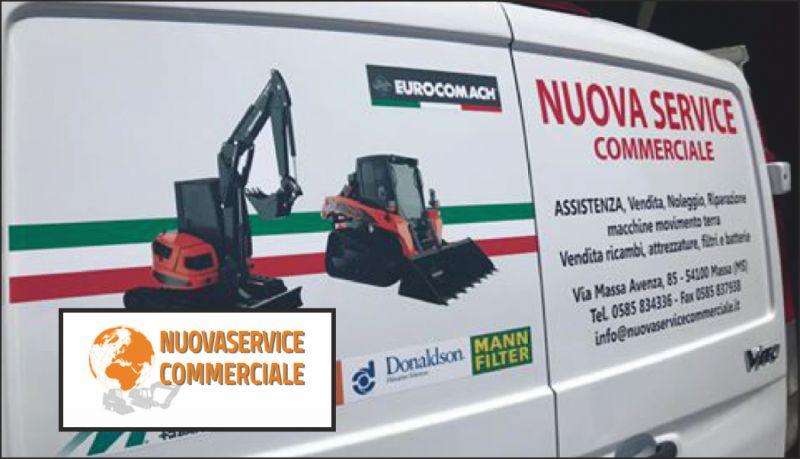 nuova service offerta noleggio macchine movimento terra - occasione noleggio escavatori massa