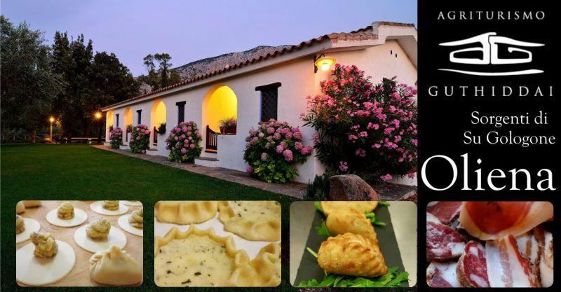 AGRITURISMO GUTHIDDAI Oliena - offerta piatti cucina tradizionale sarda con materie prime produzione propria