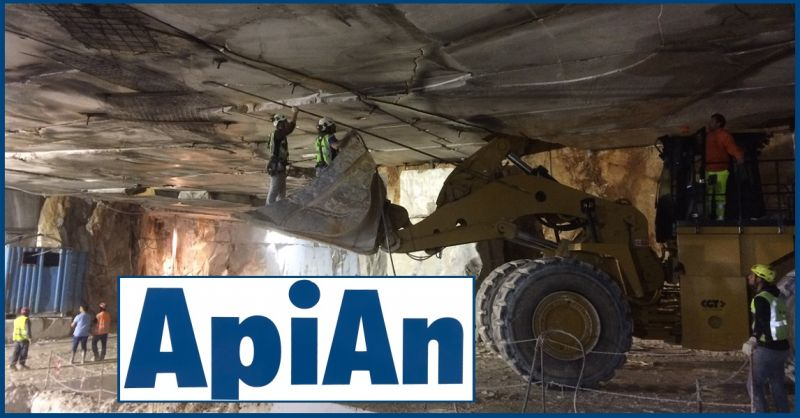 API-AN SOC. COOP - BARGAINS EXPERT ITALIAN COMPANY IN SECURING ROCK/CLIFF FACES
