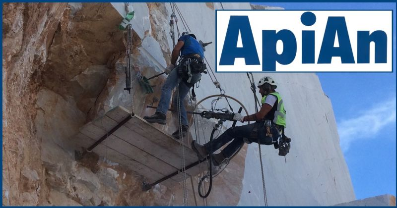 API-AN SOC. COOP - Offers the leading company for systems for securing rock/cliff faces.