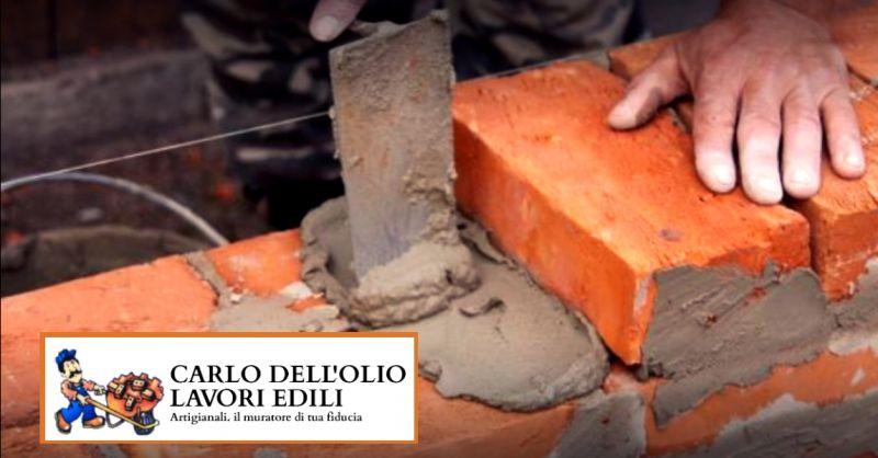 offerta ristrutturazioni edili artigianali - occasione muratore ciappinaro tuttofare Bologna