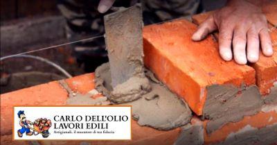 offerta ristrutturazioni edili artigianali occasione muratore ciappinaro tuttofare bologna
