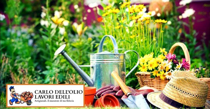 offerta servizio di manutenzione giardini - occasione intervento per lavori di giardinaggio