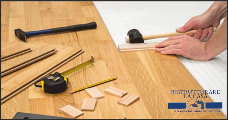 ristrutturare la casa offerta messa in posa parquet flottante - occasione lucidatura pavimenti