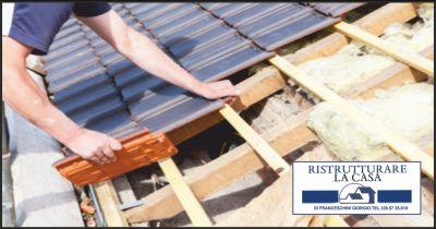 ristrutturare la casa offerta posa cappotto termico occasione isolanti tetti massa carrara