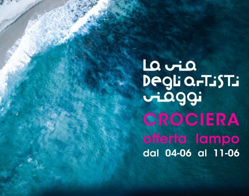 LA VIA DEGLI ARTISTI VIAGGI offerta crociera isole greche - promozione msc lirica croazia