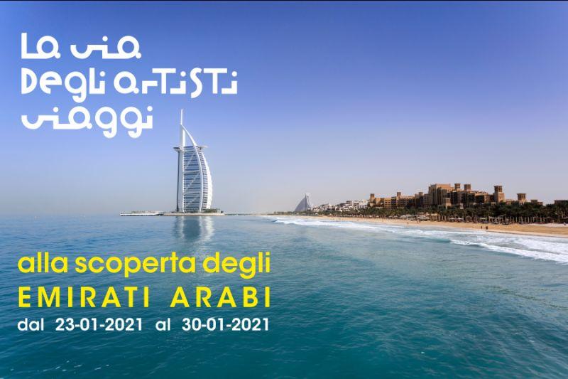LA VIA DEGLI ARTISTI VIAGGI offerta crociera msc emirati arabi qatar dubai gennaio 2021