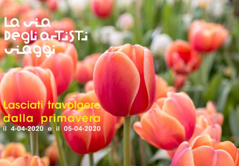 LA VIA DEGLI ARTISTI VIAGGI offerta parco giardino sigurta – promozione tulipani valeggio sul mincio