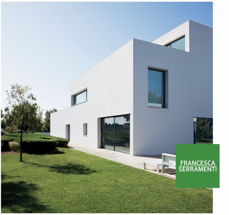 FRANCESCA SERRAMENTI offerta finestre in alluminio urgnano -promo infissi risparmio energetico