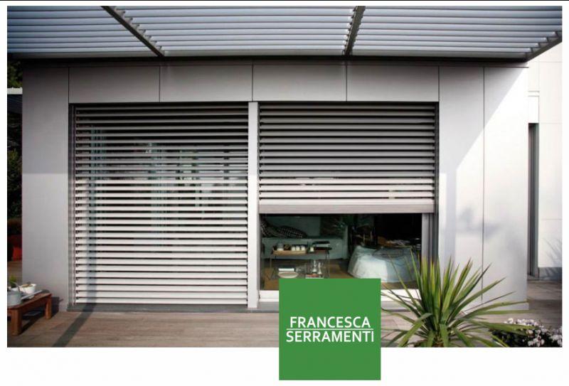 FRANCESCA SERRAMENTI offerta sistemi frangisole urgnano - promozione oscuranti su misura