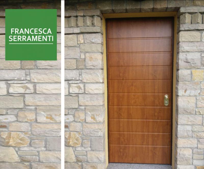 FRANCESCA SERRAMENTI offerta porte blindate certificate classe 4 – promozione porte antieffrazione
