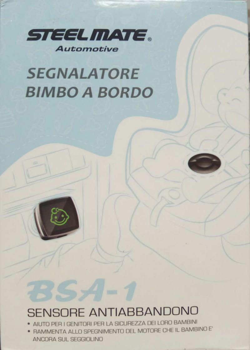 SEGNALATORE BIMBO A BORDO SENSORE ANTIABBANDONO