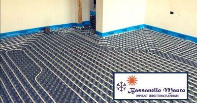 offerta progettazione e realizzazione di impianti a pavimento castelbelforte mantova