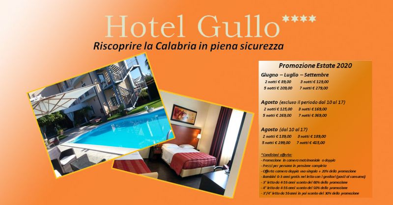 Hotel Gullo – Promozione  vacanza estate 2020 Catanzaro –  offerta hotel vacanza al mare calabria