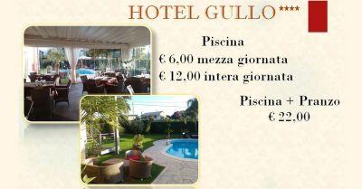 hotel gullo promozione hotel piscina con pranzo catanzaro offerta hotel ingresso piscina mezza giornata acconia di curinga