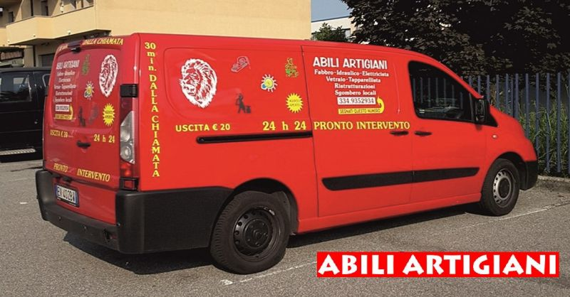 promozione servizio pronto intervento a domicilio h24 - ABILI ARTIGIANI