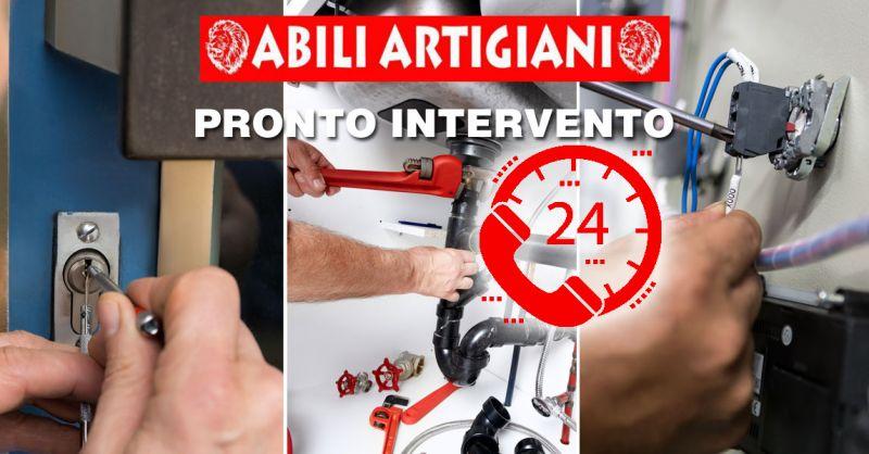 PROMOZIONE pronto intervento idraulico h24 – offerta pronto intervento elettrico h24