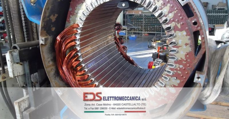 offerta riavvolgimento motori elettrici teramo - occasione riavvolgitura riparazione motori elettrici teramo