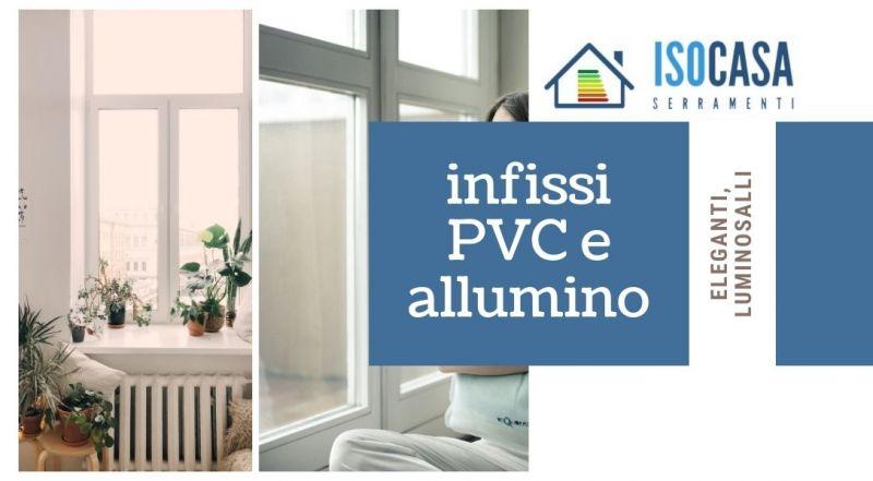 Offerta vendita infissi in PVC e alluminio a Novara – Occasione finestre in PVC e alluminio a prezzi vantaggiosi a Novara