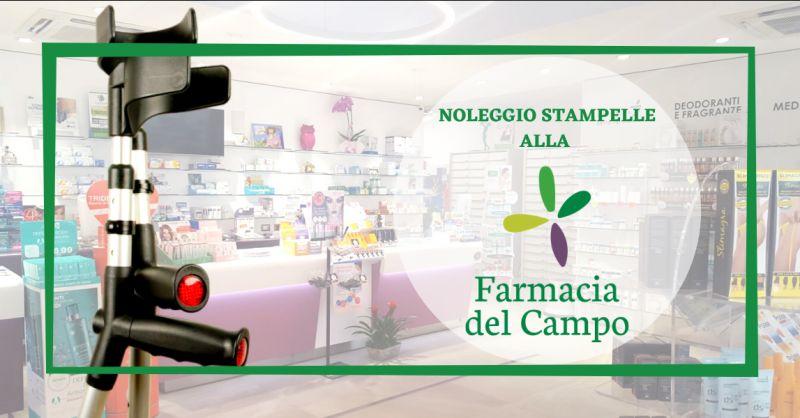 FARMACIA DEL CAMPO offerta noleggio stampelle aprilia - occasione stampelle in affitto latina
