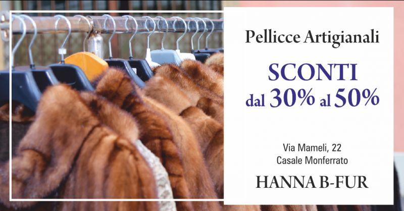 offerta negozio pellicce artigianali casale monferrato - occasione pellicce in visone torino