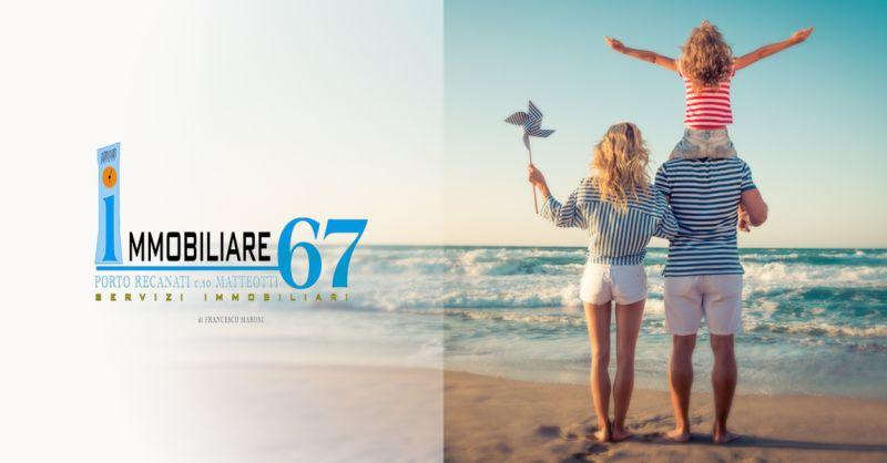 IMMOBILIARE 67- occasione vendita casa familiare con giardino porto recanati