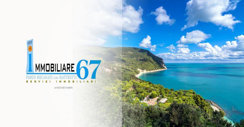 IMMOBILIARE 67 - offerta cerco casa con vista mare in vendita porto recanati