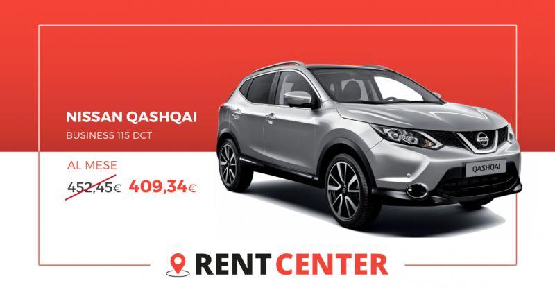 RENT CENTER - offerta Nissan Qashqai Business 115 dct Noleggio Lungo Termine Rivoli Torino