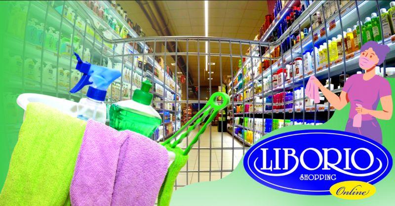 LIBORIO SHOPPING Offerta prodotti per pulire casa online - occasione detergenti casa online