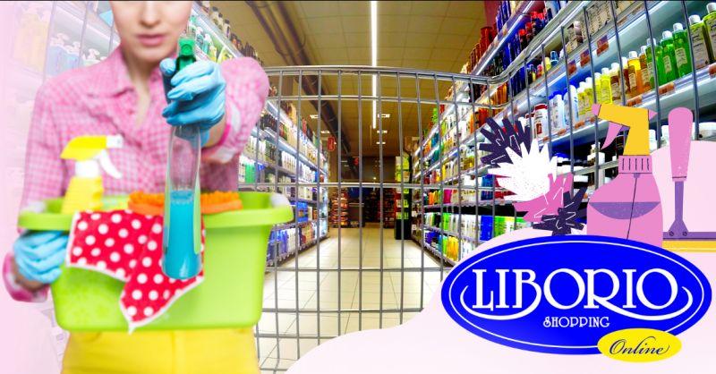 LIBORIO SHOPPING - Offerta vendita online prodotti per la pulizia della casa