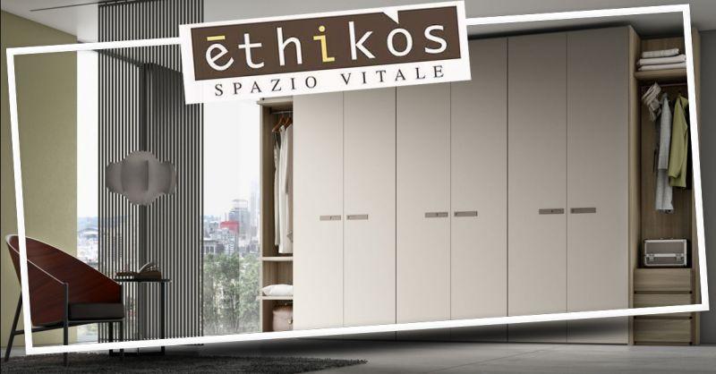 Offerta Arredamento su misura zona notte Vicenza - occasione arredo camera matrimoniale ETHIKOS