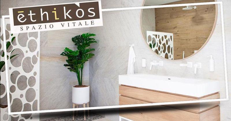 Offerta mobili arredo bagno moderno Trissino - Occasione arredamento bagno di design Vicenza