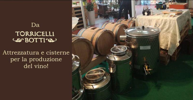 Offerta cisterne inox vino Reggio Emilia - occasione attrezzatura per enologia Reggio Emilia