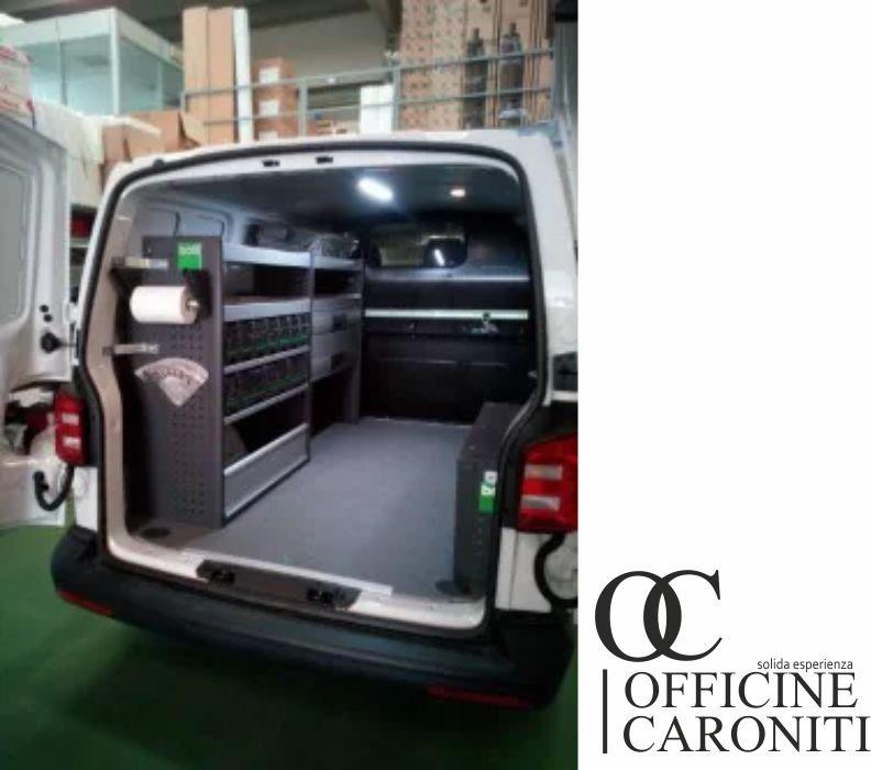 OFFICINE CARONITI offerta allestimento veicoli commerciali - promozione officina lavoro mobile