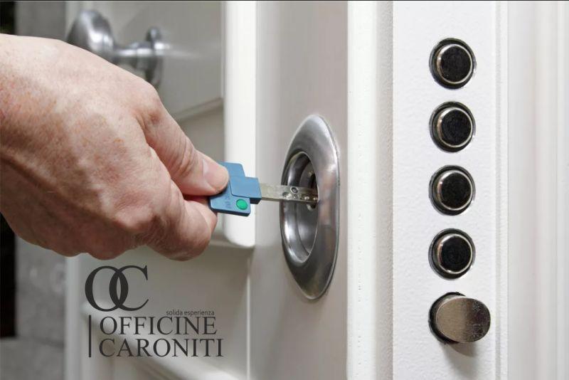OFFICINE CARONITI offerta porte blindate artigianali - installazione porte blindate qualita