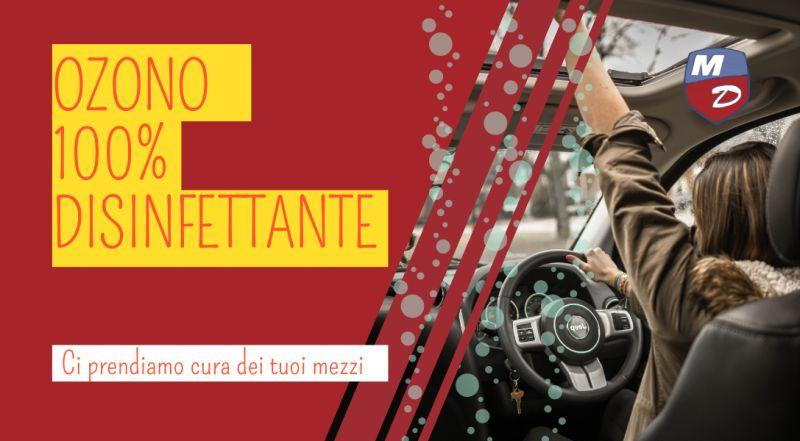 Offerta servizio di igienizzazione auto con ozono a Novara – vendita centro revisioni auto e moto a Novara