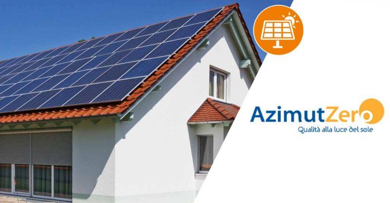 Azimut Zero Sestu - offerta  installazione impianti fotovoltaici residenziali chiavi in mano