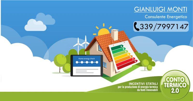 GIANLUIGI MONTI - offerta servizio espletamento pratiche ottenere incentivi Conto Termico 2.0