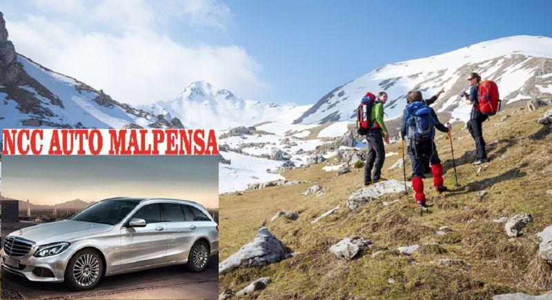 occasione Noleggio auto con conducente per transfer e tour in montagna - NCC AUTO MALPENSA