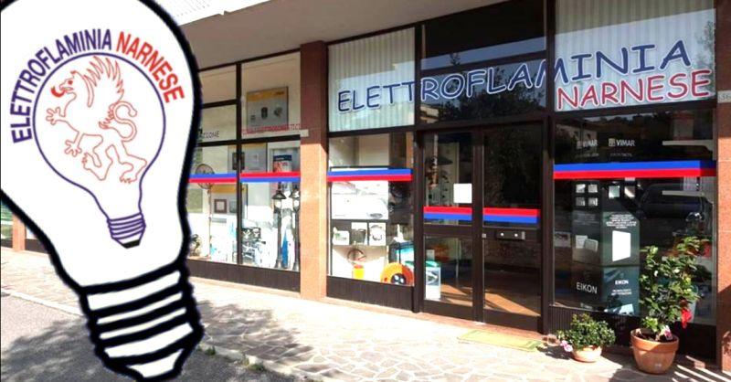 ELETTROFLAMINIA NARNESE - offerta vendita materiale elettrico civile e industriale Narni Terni